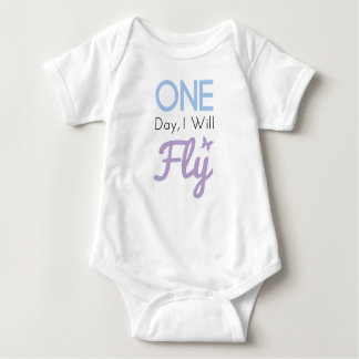 One Day I Will Fly Infant Creeper