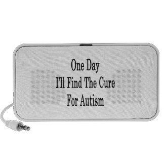 One Day I'll Find The Cure For Autism iPhone Speakers