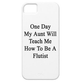 One Day My Aunt Will Teach Me How To Be A Flutist. iPhone SE/5/5s Case
