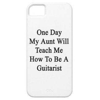 One Day My Aunt Will Teach Me How To Be A Guitaris iPhone SE/5/5s Case