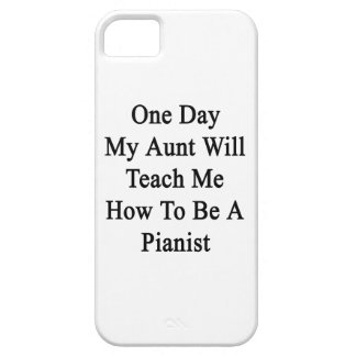 One Day My Aunt Will Teach Me How To Be A Pianist. iPhone SE/5/5s Case