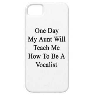 One Day My Aunt Will Teach Me How To Be A Vocalist iPhone SE/5/5s Case