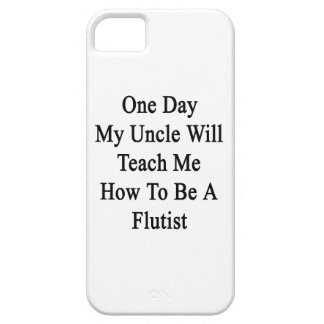 One Day My Uncle Will Teach Me How To Be A Flutist iPhone SE/5/5s Case