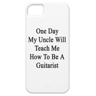 One Day My Uncle Will Teach Me How To Be A Guitar iPhone SE/5/5s Case