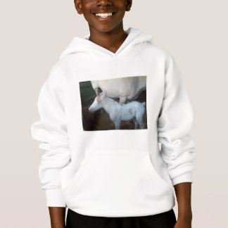 One Day Old Colt -Baby Powder Hoodie