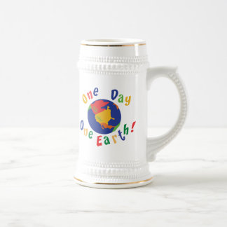 One Day One Earth Beer Stein