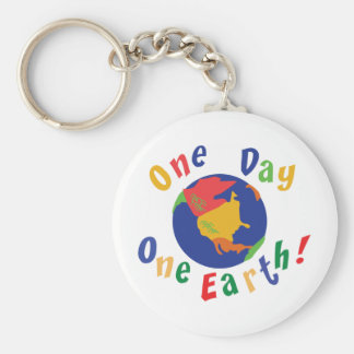 One Day One Earth Keychains