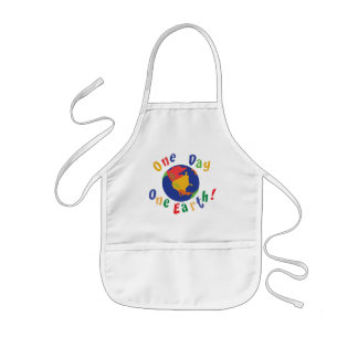 One Day One Earth Kids' Apron