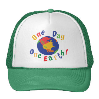 One Day One Earth Trucker Hat