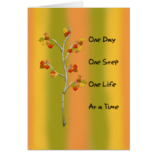 One Day One Step Card
