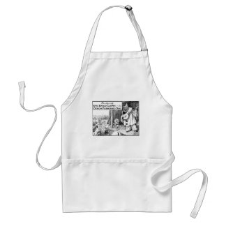 One Day Only: Evil Banjo Clown Adult Apron