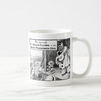 One Day Only: Evil Banjo Clown Coffee Mug