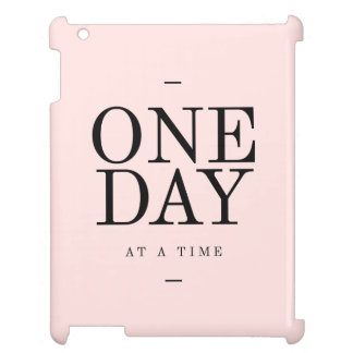 One Day Perseverance Quote Blush Pink Gift Case For The iPad 2 3 4