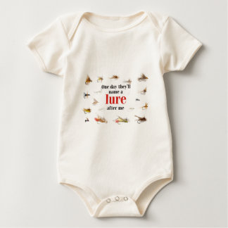 One` Day they will name a Lure after me Baby Bodysuit