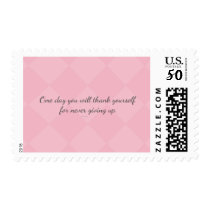 One day U will thank yourself for never giving up. Postage