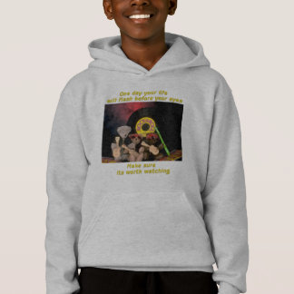 One day your life will flash before your eyes hoodie