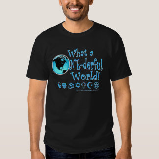 One-derful World Unity Coexist T-shirt