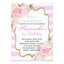 One-derful Year Invitations