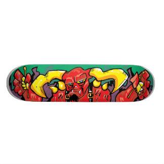 One Devil of a Drummer! Skateboard Deck