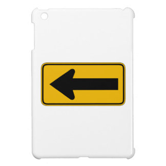 One Direction Arrow Left, Traffic Warning Sign, US Case For The iPad Mini