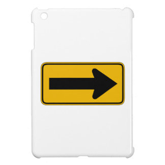 One Direction Arrow Right, Traffic Warning Signs Cover For The iPad Mini