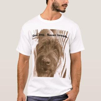 One dog.  Seven breeds. T-Shirt