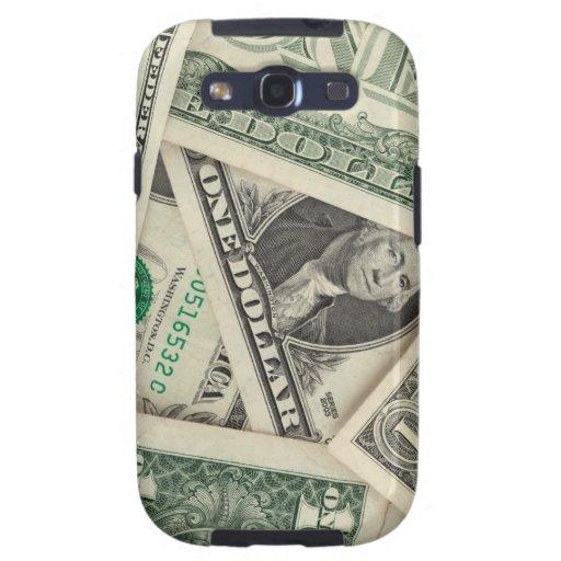 One Dollar Bills Samsung Galaxy SIII Cover