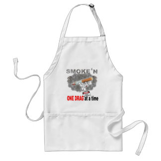 ONE DRAG AT ATIME_1 ADULT APRON