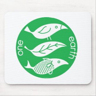 One Earth Mouse Pad