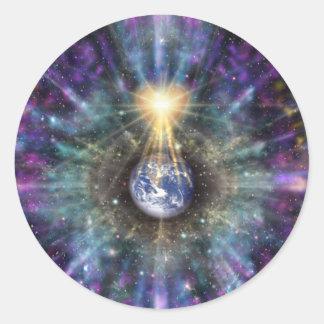 One Earth One Heart Sticker