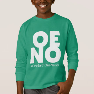 One earth One Nation Kids Collection T-Shirt
