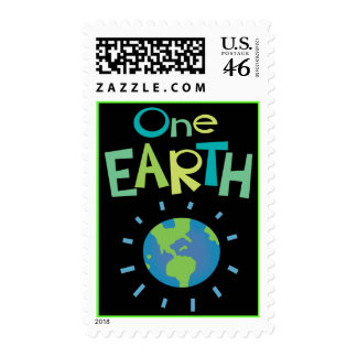 One Earth POSTAGE STAMP