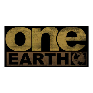 One Earth Poster