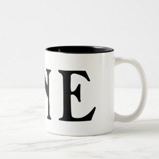 ONE EARTH Two-Tone COFFEE MUG