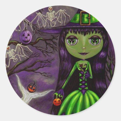 One Eerie Halloween Night Sticker
