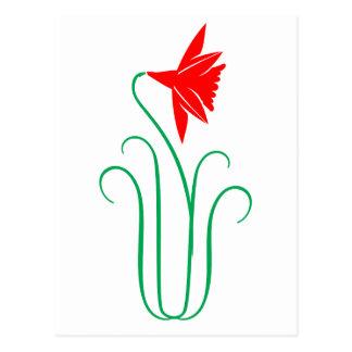 One ELEGANT Flower Show Postcard