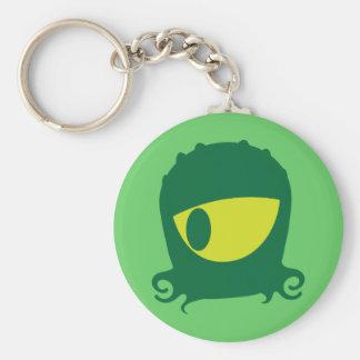 One eyed Alien creature Keychain