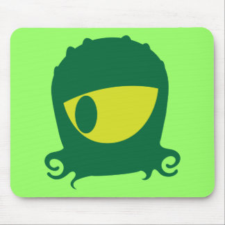 One eyed Alien creature Mouse Pad