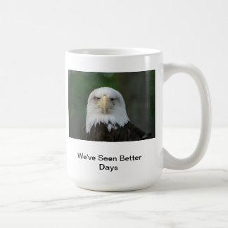 One-Eyed American Bald Eagle Humorous Mug