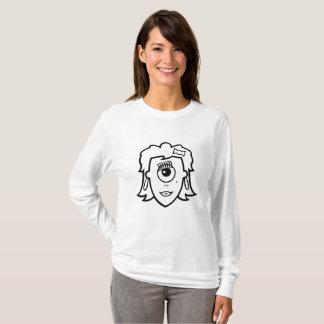 One-eyed Beauty design T-Shirt