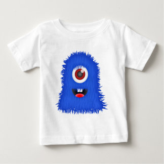 One eyed blue monster t-shirt