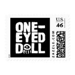 One-Eyed Doll Stamp