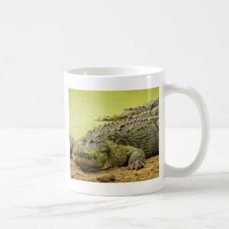 One-eyed Gator with Duckweed Coffee Mug