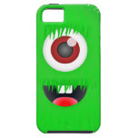 One eyed green monster iPhone 5 cover