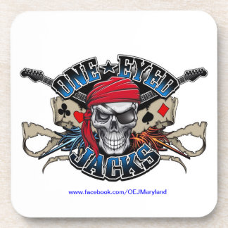 One Eyed Jacks Coasters