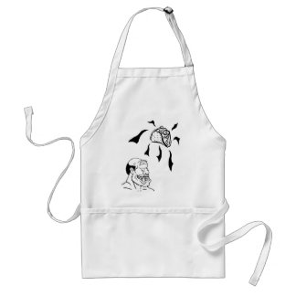 One Eyed Monster Adult Apron