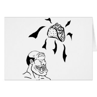 One Eyed Monster Greeting Card