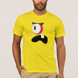 ONE-EYED MONSTER FACE COSTUME T-Shirt