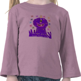 One Eyed One Horn Purple People Eater Tshirt