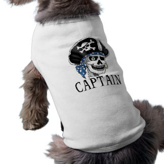One-eyed Pirate Captain Doggie Tee